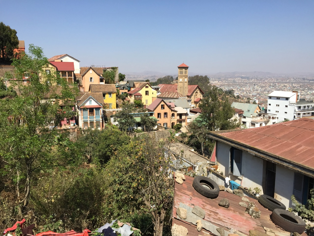View of Antananarivo from the Queen's Palace.