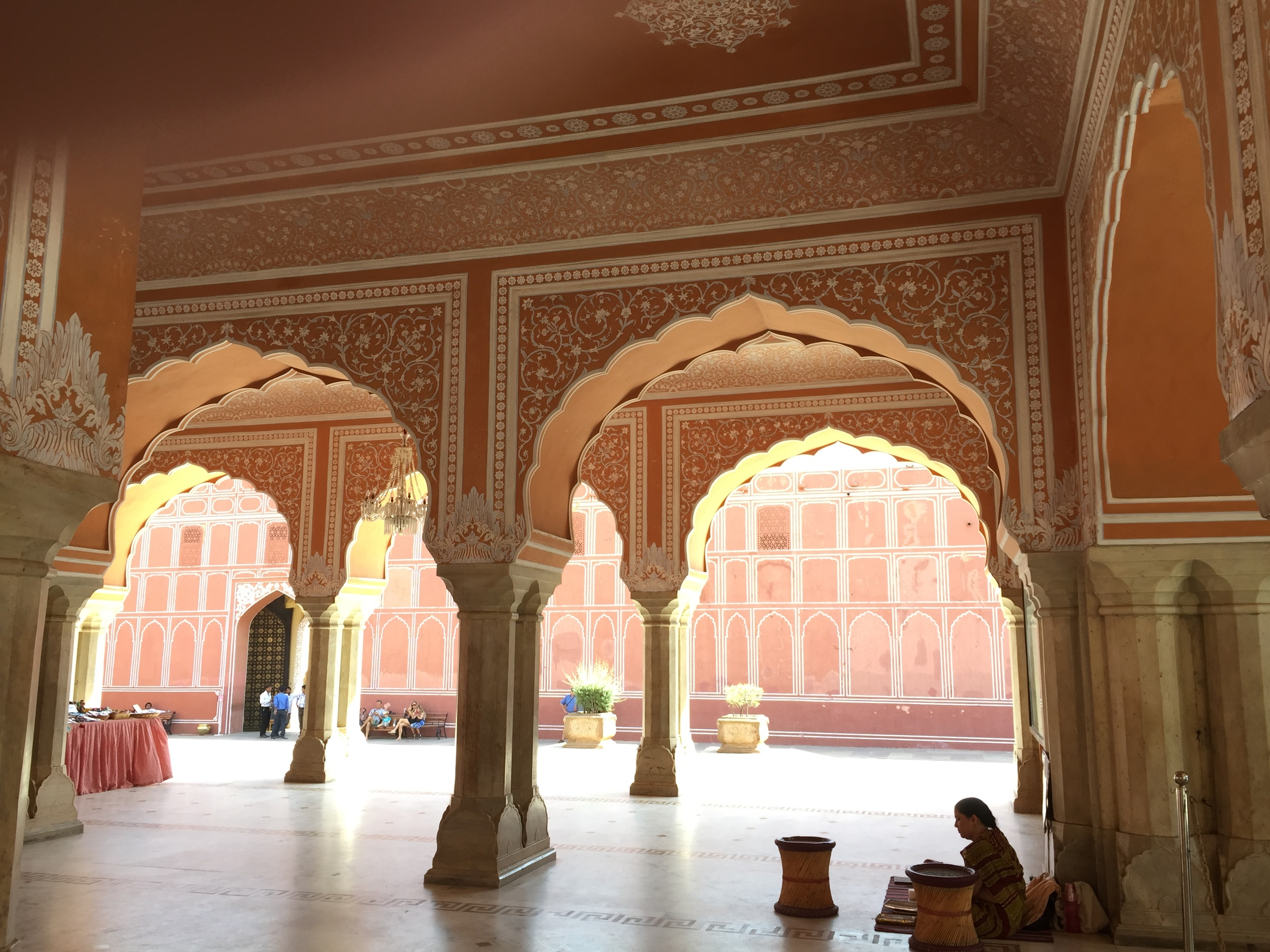 Inside the city Palace of Jaipur.