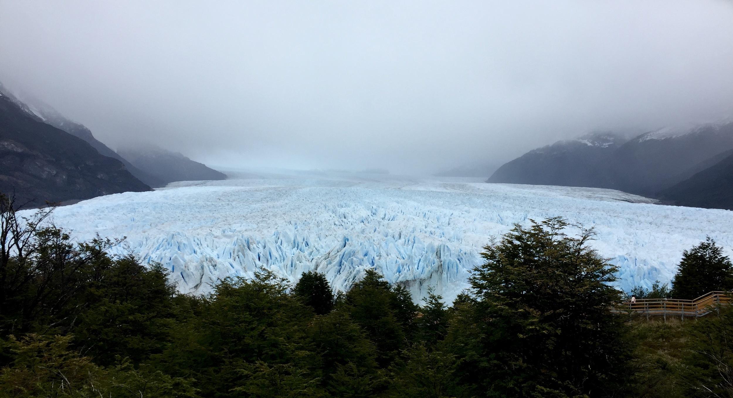 Perito Moreno Glacier, part of Los Glaciares National Park, is one of South America's most popular tourist attractions.