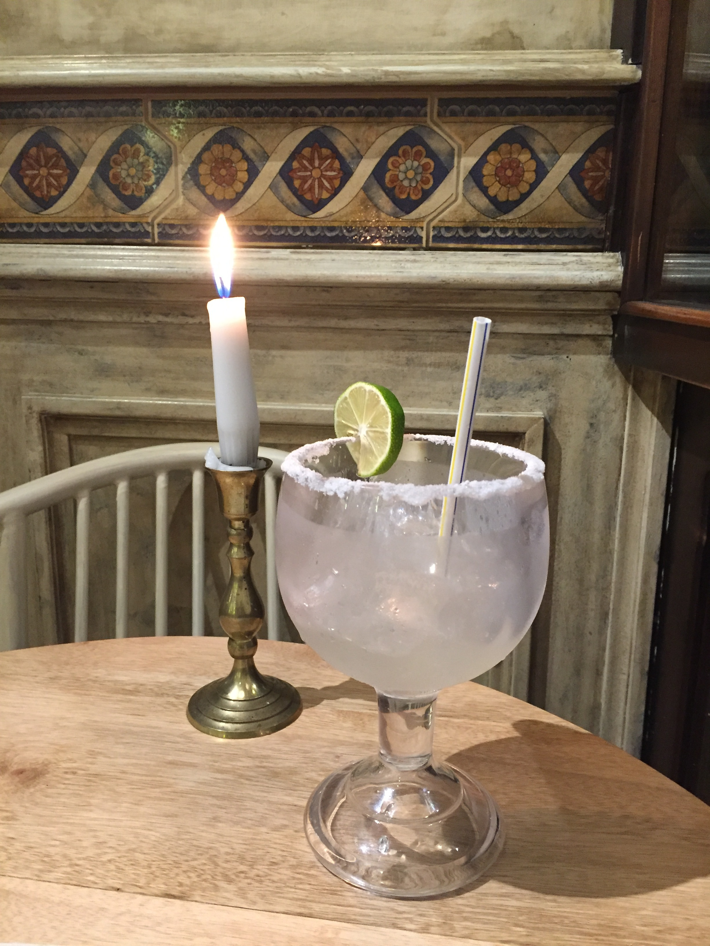 I celebrated my birthday in Cuenca with a super-sized Margarita, the best I'd tasted so far on my trip!