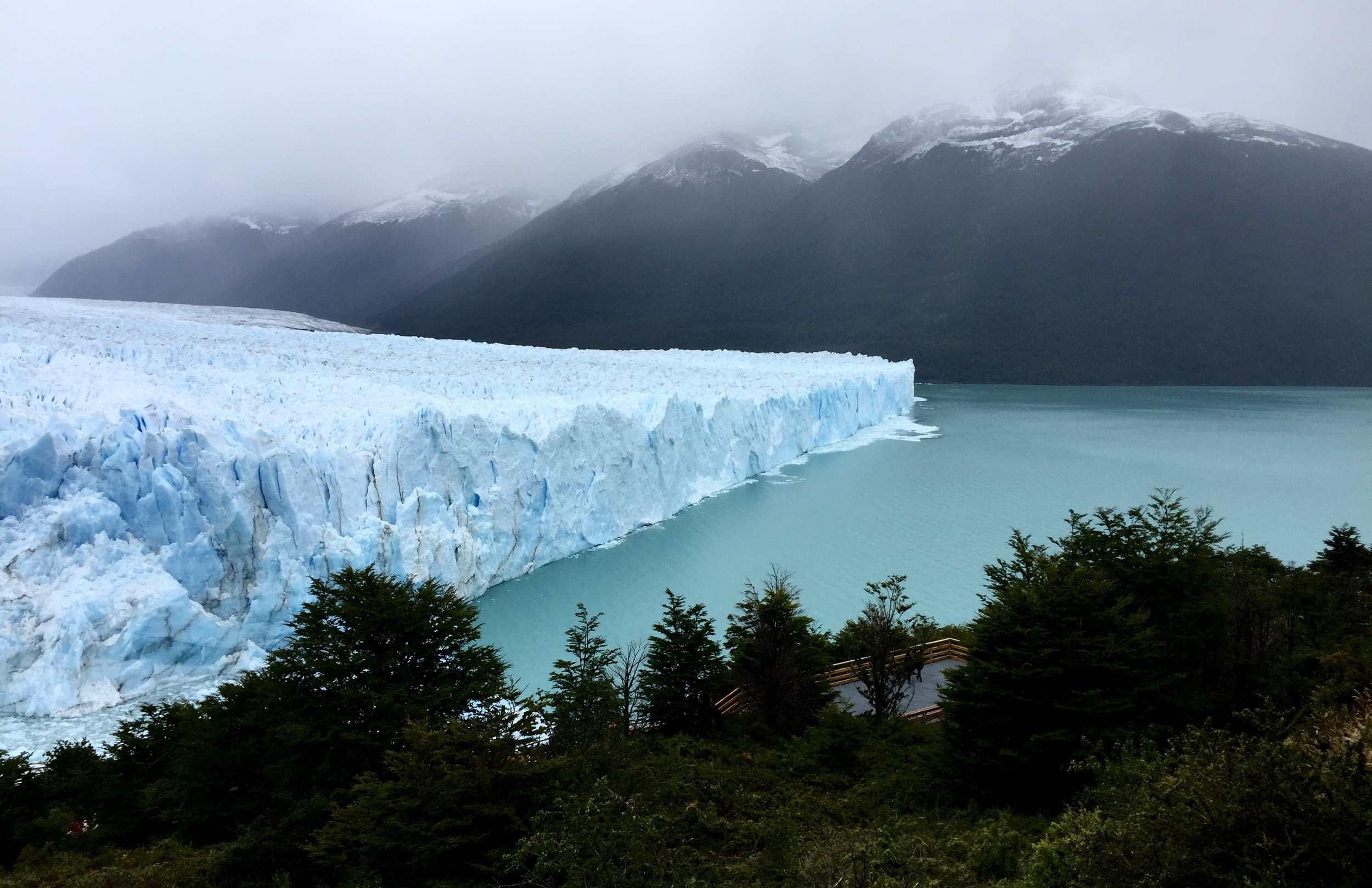 The ice dam at the face of the Perito Moreno Glacier in southern Patagonia collapsed on March 10, a month after the author had been there to see if she could witness the natural spectacle.