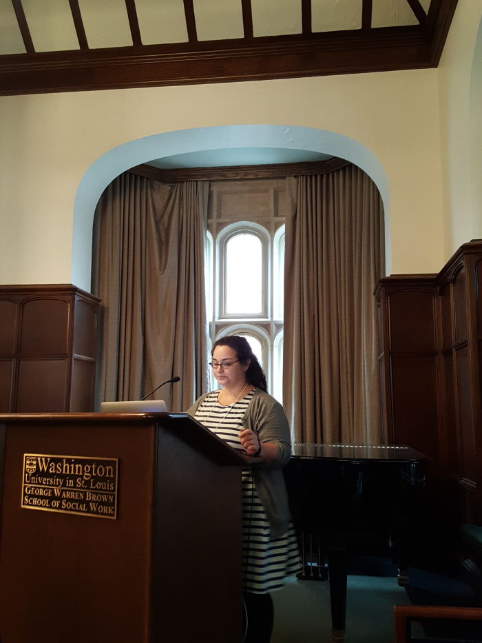 """Presenting """"Bannocks & Willow Tree Bark: Food, Medicine, and Feminism in 'Outlander'""""at the Graduate Association of Food Studies Conference 2017."""