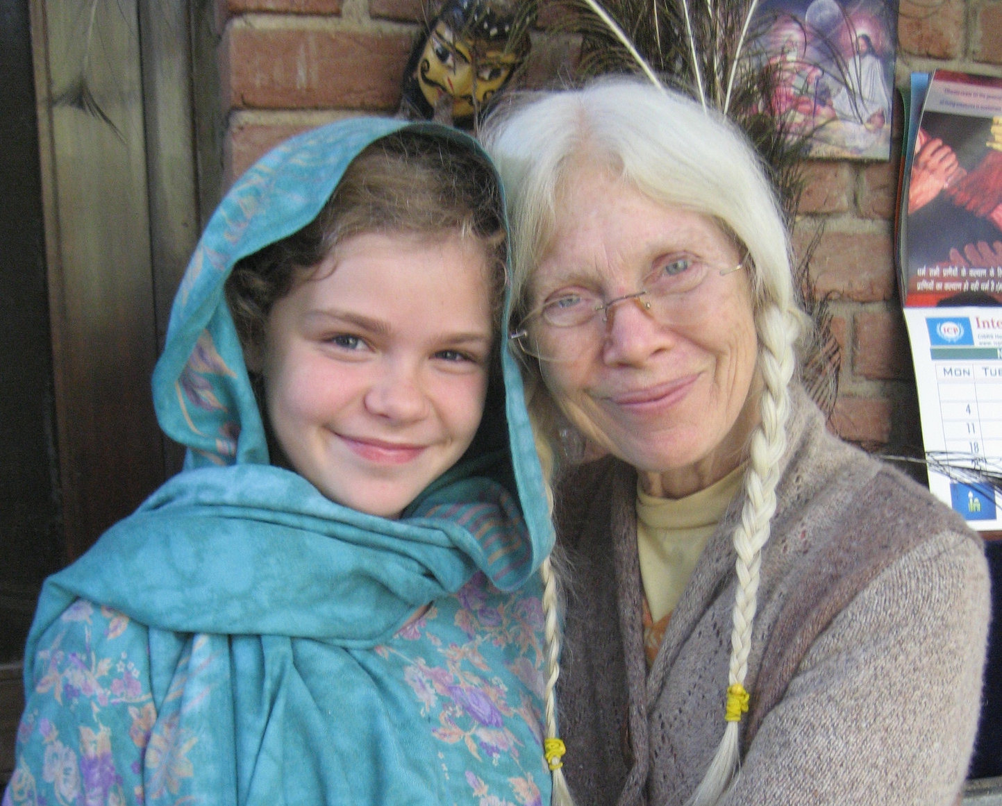 Magnolia Rose and her grandmother