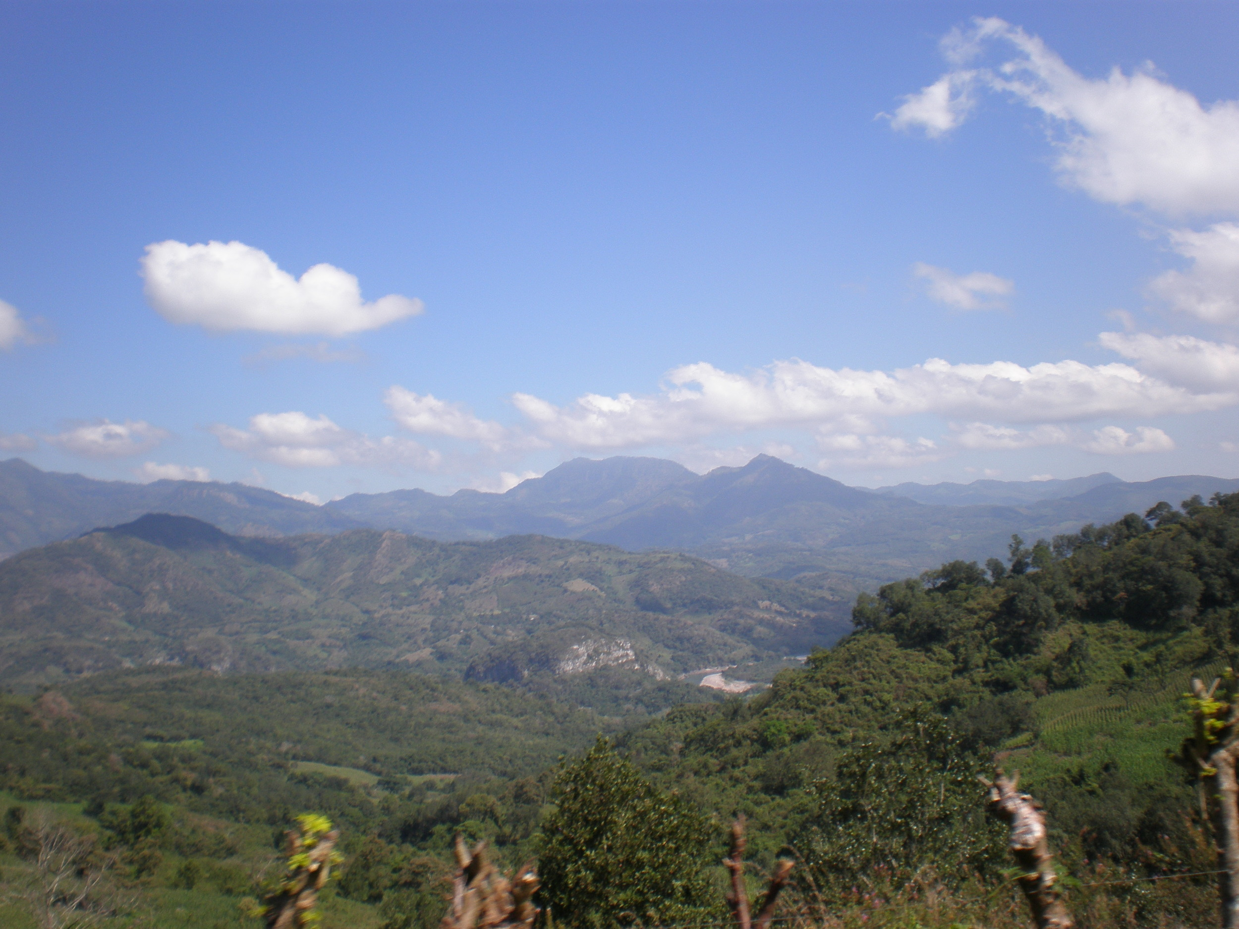 the view from El Tulé