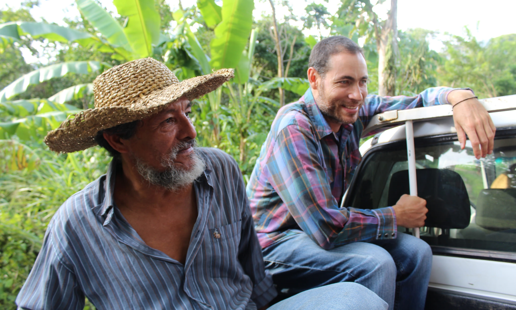 Joaquín and Ricardo (Program Impact Officer) - photo by Bailey McWilliams