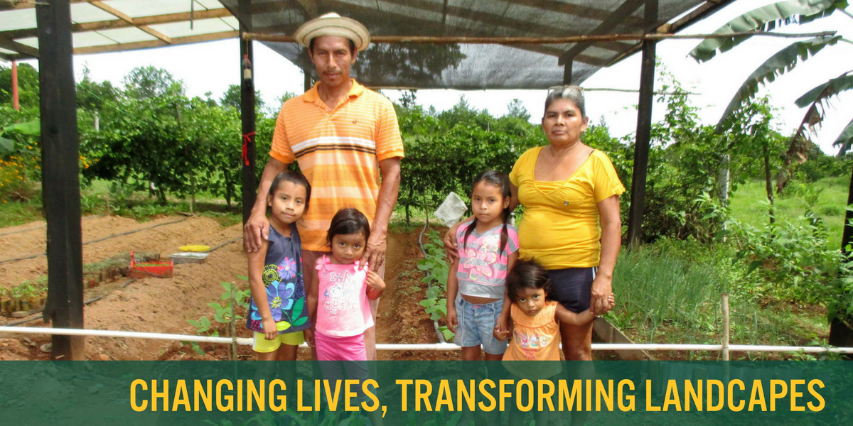 Rafael Rodríguez and María Hernández welcome family, friends, and other visitors to their home, where they are hard at work creating a sustainable future in La Candelaria, Panama. - Photo by Daysbeth López
