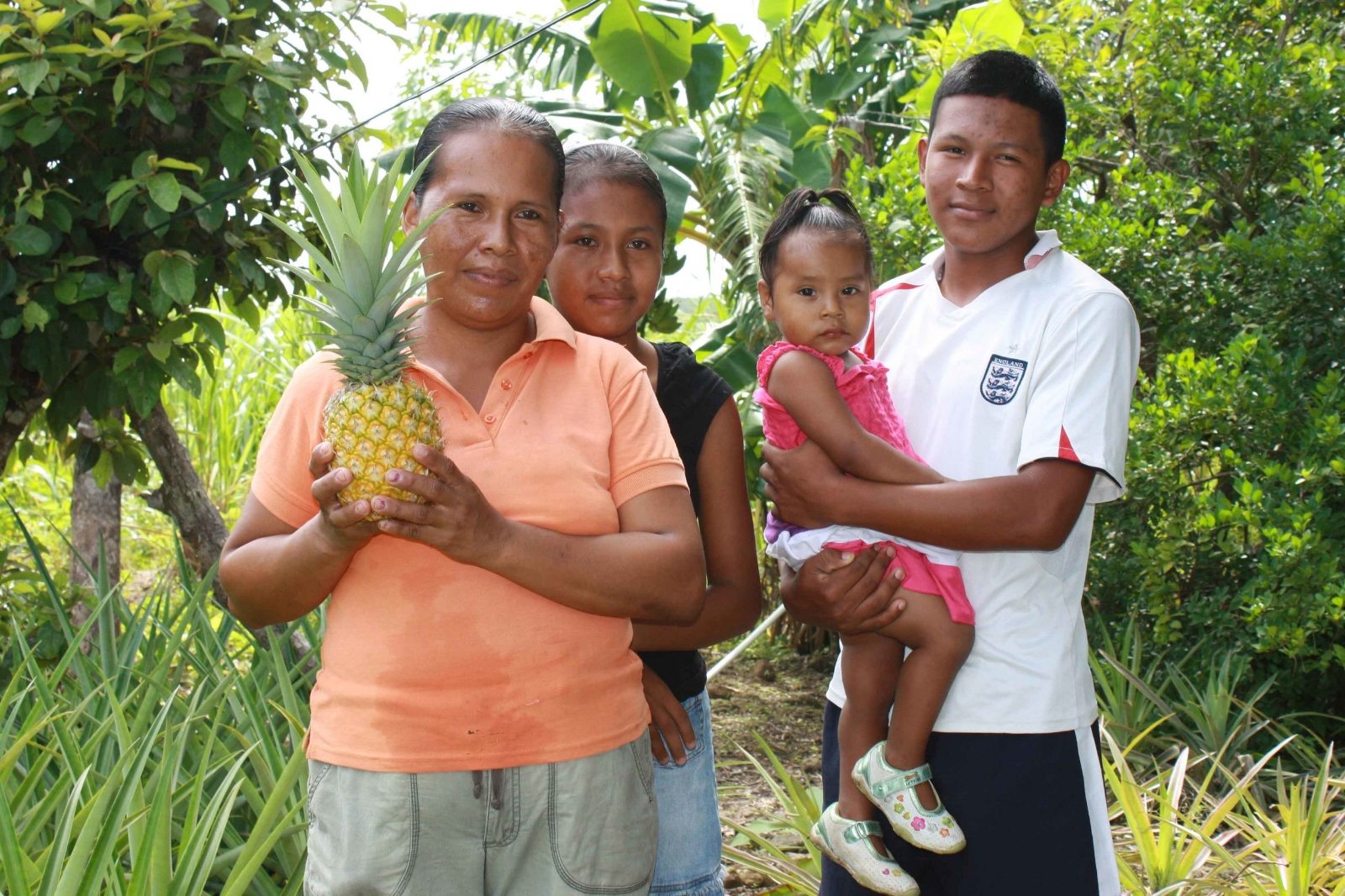 Sustainable farming was the solution to Migdalia's family's health and happiness.