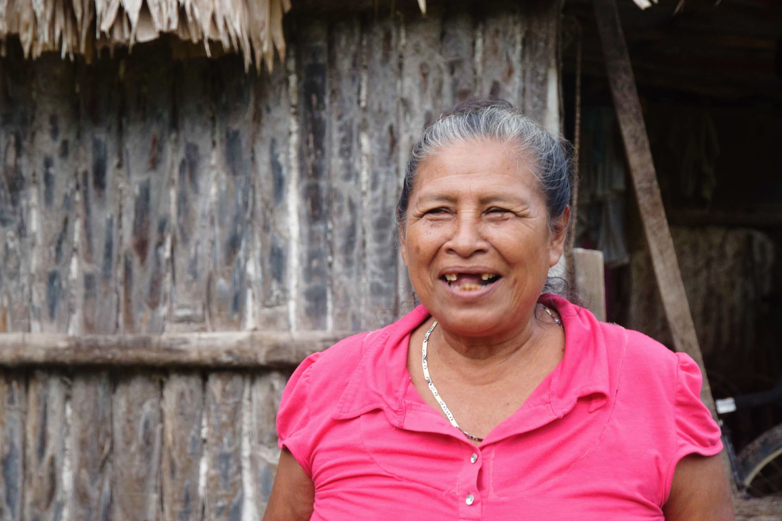 Because of supporters like you, Josefa and her family now grow their own food supply, using regenerative farming methods that nourish people and the planet.