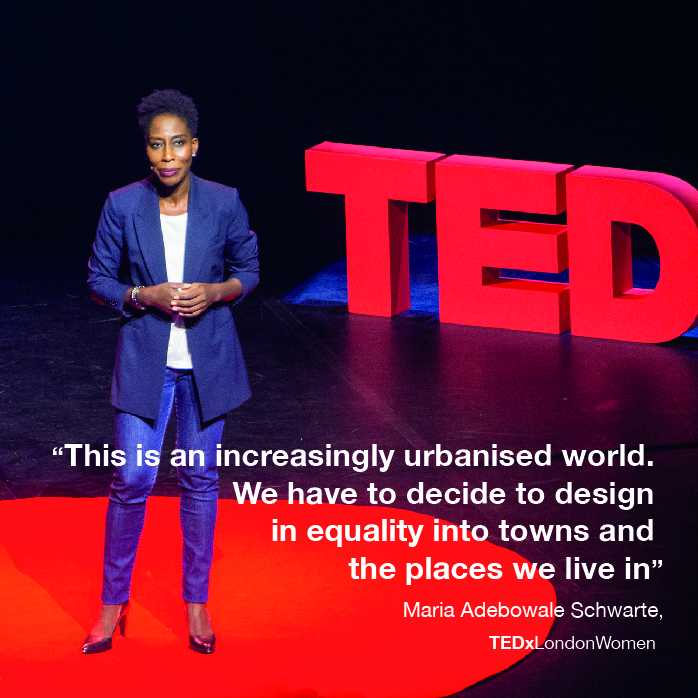 Maria Adebowale Schwarte-TEDx.jpg + TEDxLondon +Women+Placemaking+Inclusive+