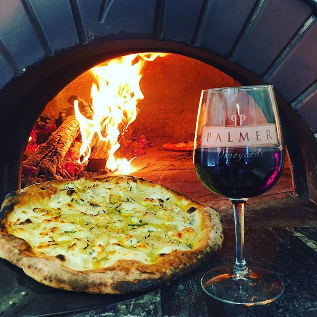 @brockenzo_pizza has the oven hot and ready to rock! Coming down to Palmer open until 9 PM tonight!