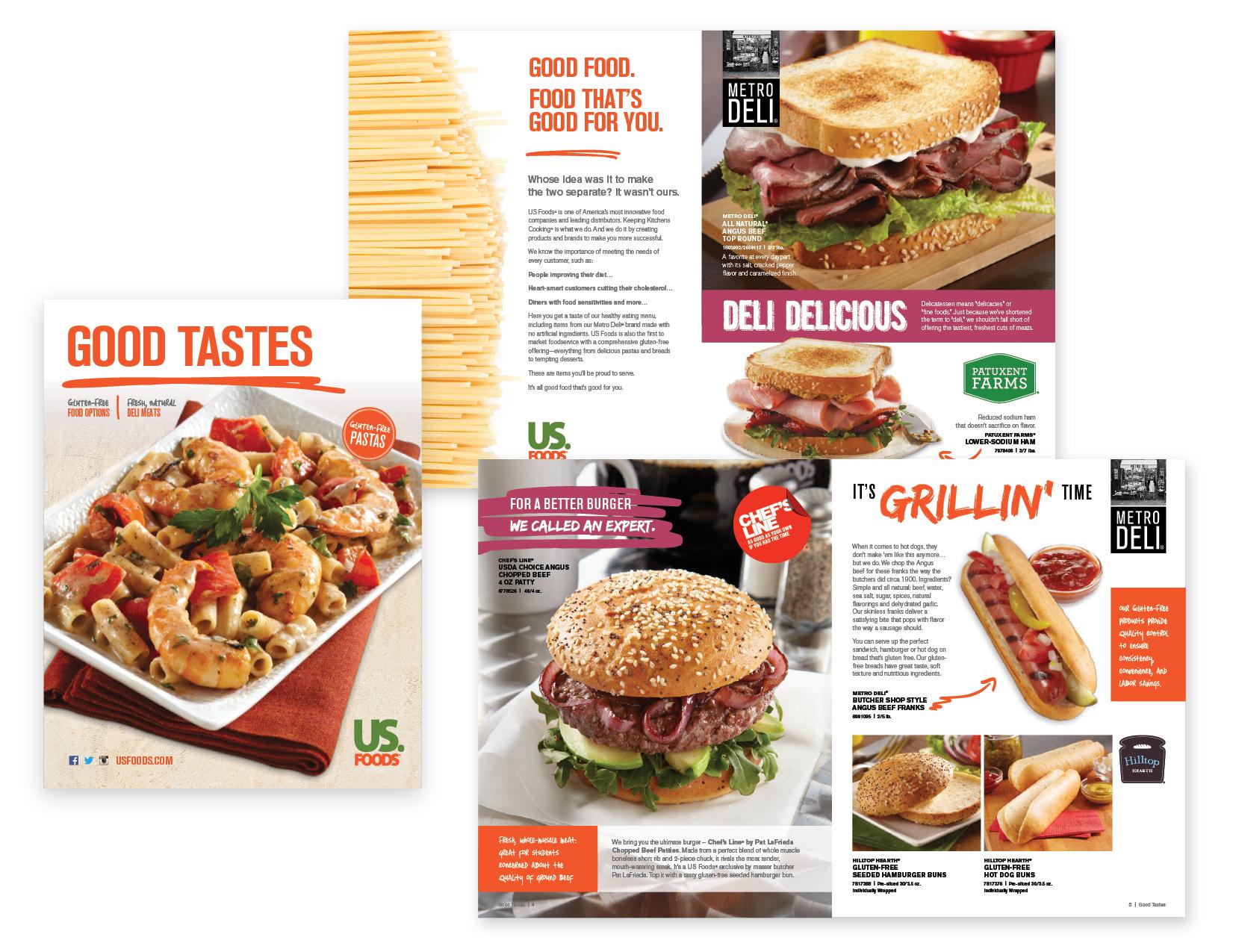 Good Tastes Brochure, US Foods