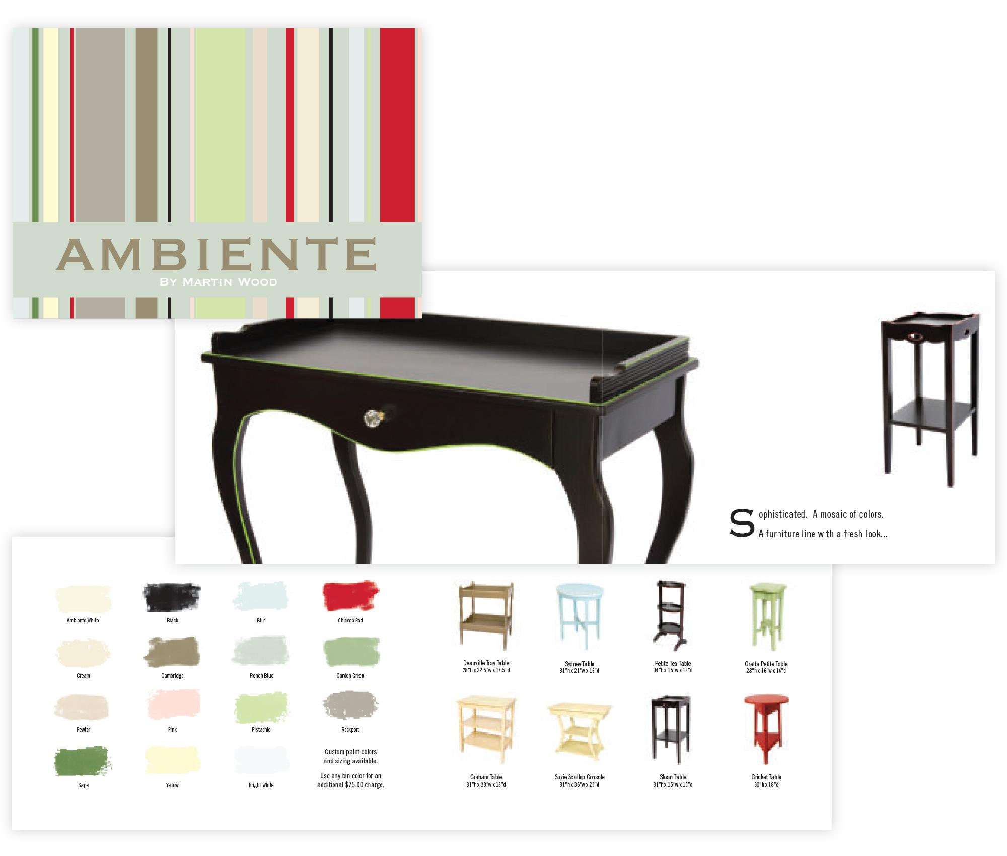 Ambiente Furniture Catalog