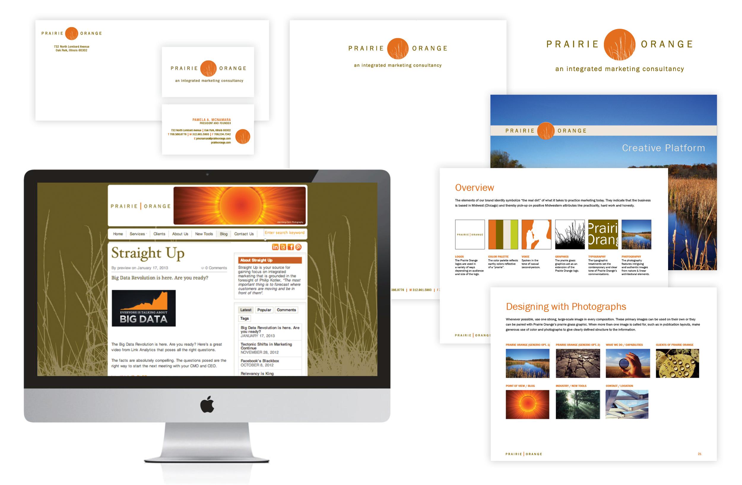 Prairie Orange Branding