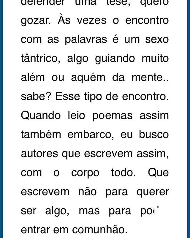um pedacinho da entrevista para a revista online 'Literatura e Fechadura'. Ta no link: www.literaturaefechadura.com.br