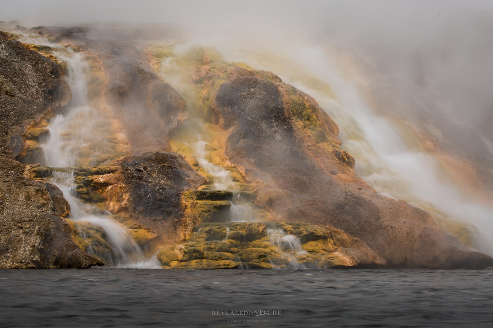 Yellowstone Hot Springs Photo