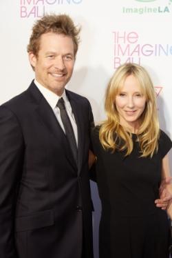 Imagine LA Ambassadors actors James Tupper and Anne Heche.