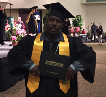 The eldest son from our first Imagine LA Family graduated from Sacramento State June 2015.