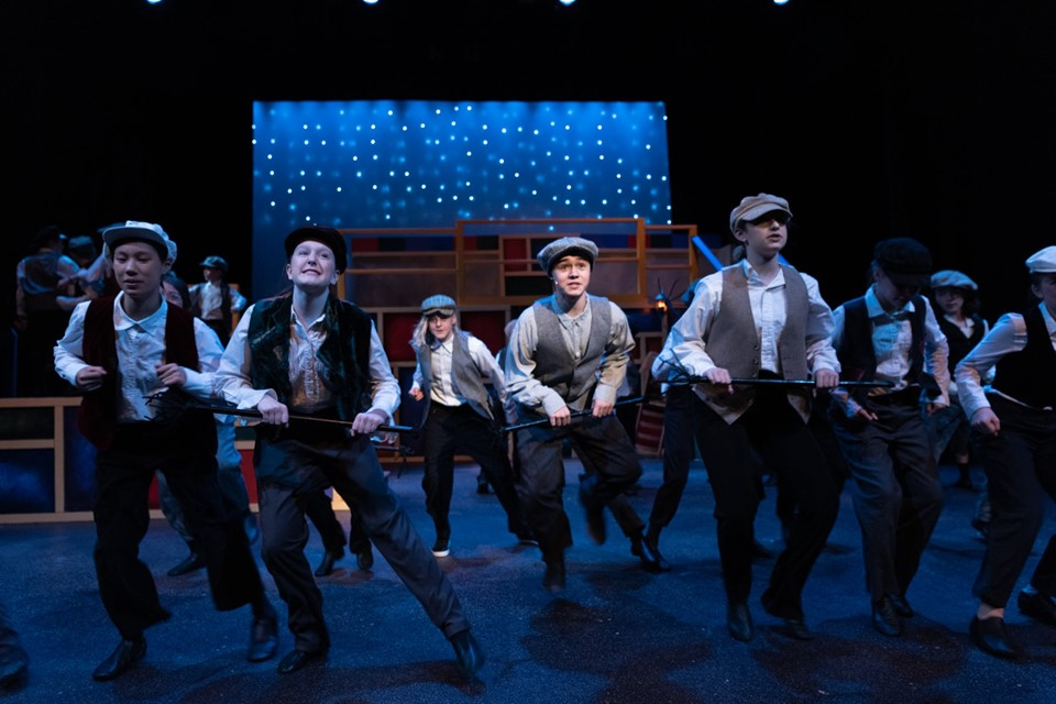"Chimney Sweeps, ""Mary Poppins Jr."" // Watertown Children's Theatre"