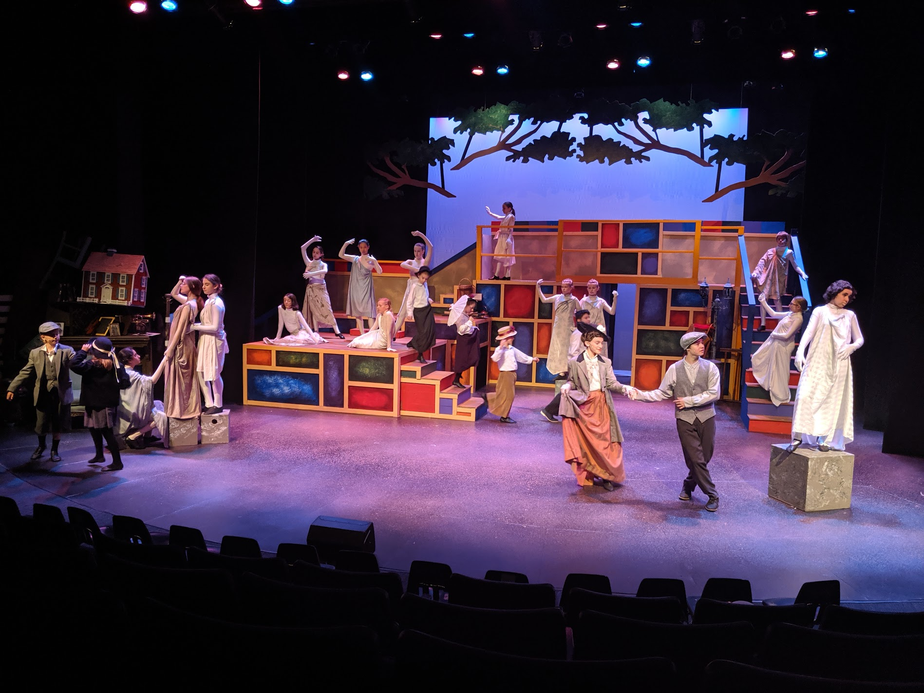 """Statues in the Park, """"Mary Poppins Jr."""" // Watertown Children's Theatre"""