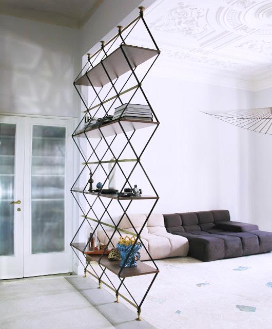 bookshelf designed by Pietro Russo