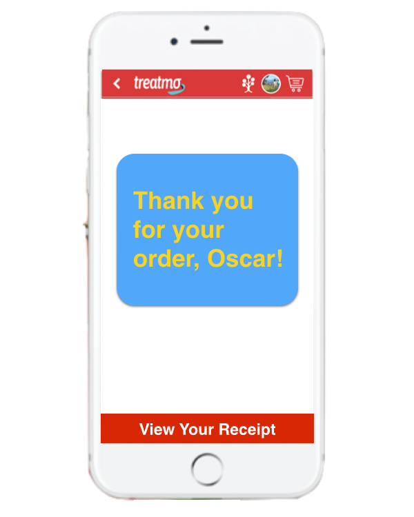 Oscar is Treatmo's customer service expert. Questions, try Live Chat or the  Contact Form