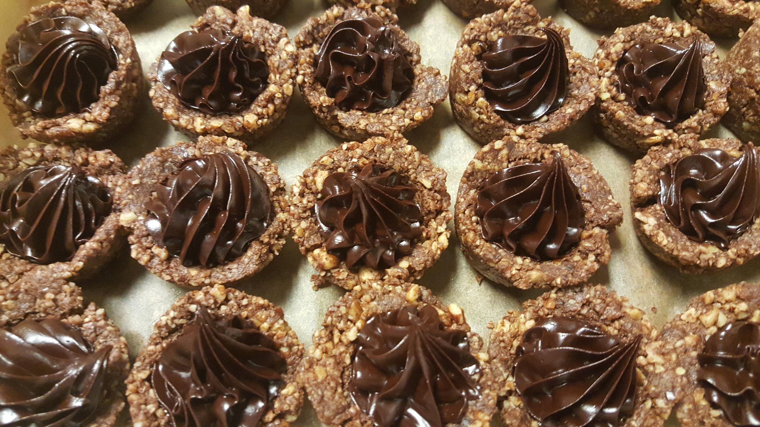 MIni Chocolate Pecan Tarts