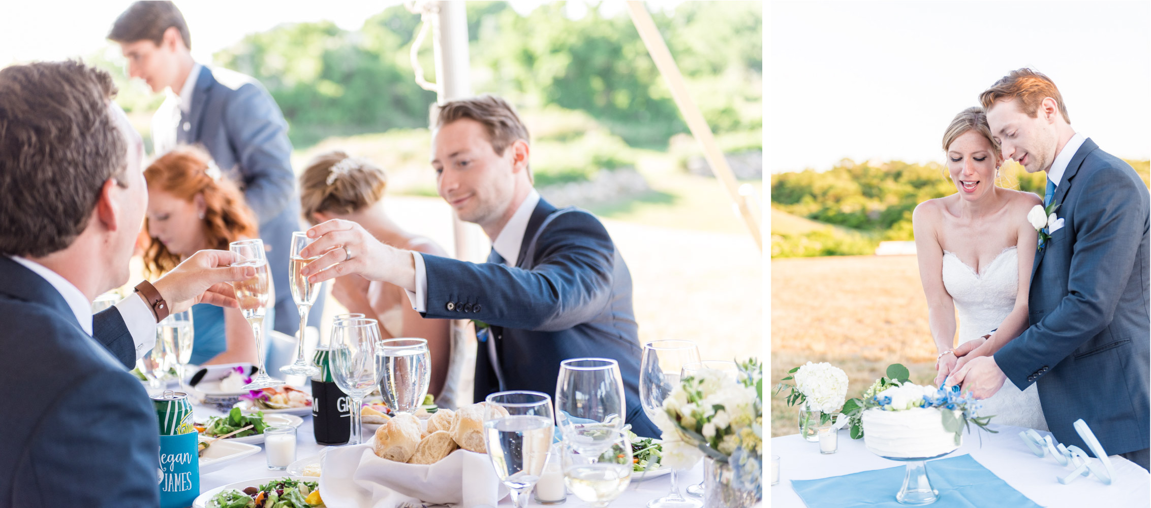 Block Island New Shoreham Rhode Island Coastal Classic Summer Wedding - Lorna Stell Photo - Boston, North Shore, Massachusetts and New England Wedding and Portrait Photographer for the Openhearted