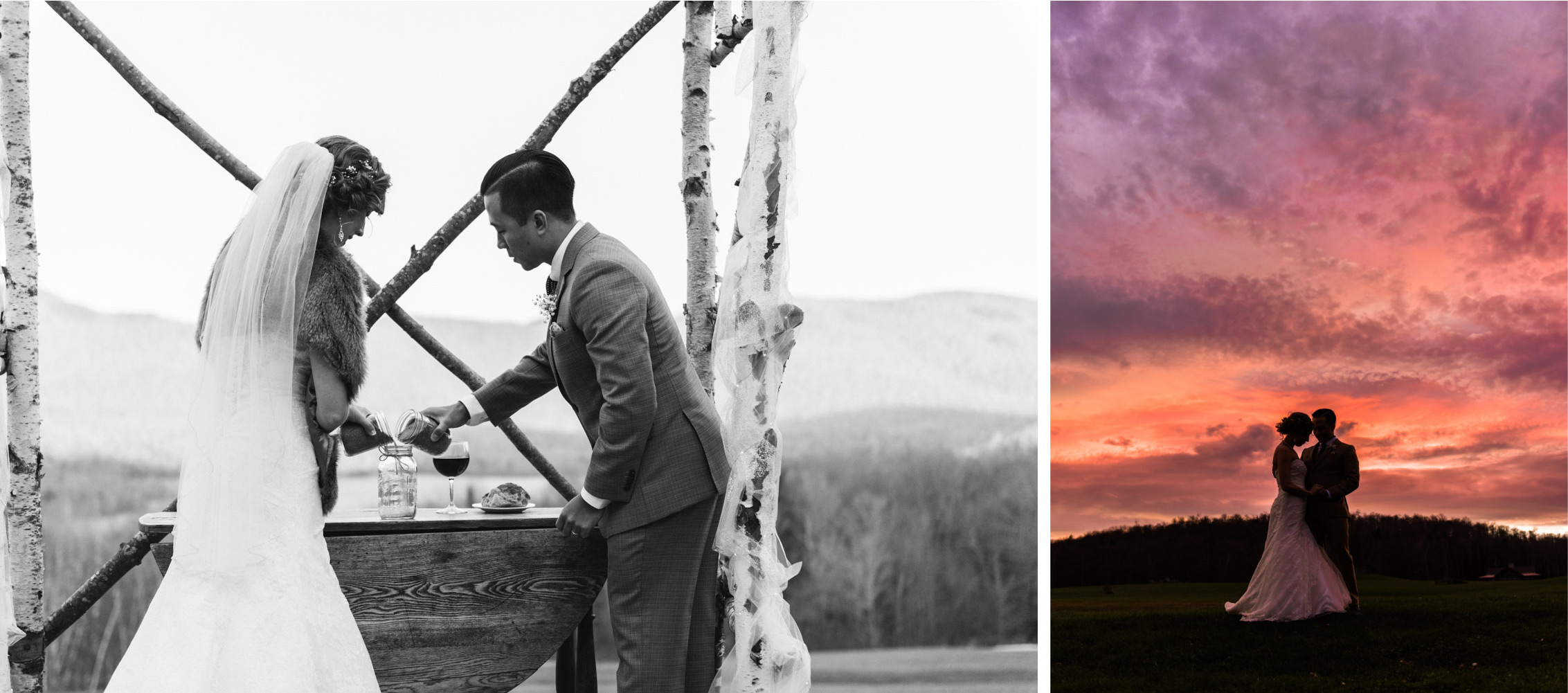 Mountain Top Inn and Resort Vermont Elegant Winter Wedding - Lorna Stell Photo - Boston, North Shore, Massachusetts and New England Wedding and Portrait Photographer for the Openhearted