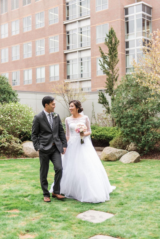 Phoebe + Jeffrey | Joyful Cambridge & Boston Spring Wedding | Boston and New England Wedding Photography | Lorna Stell Photo