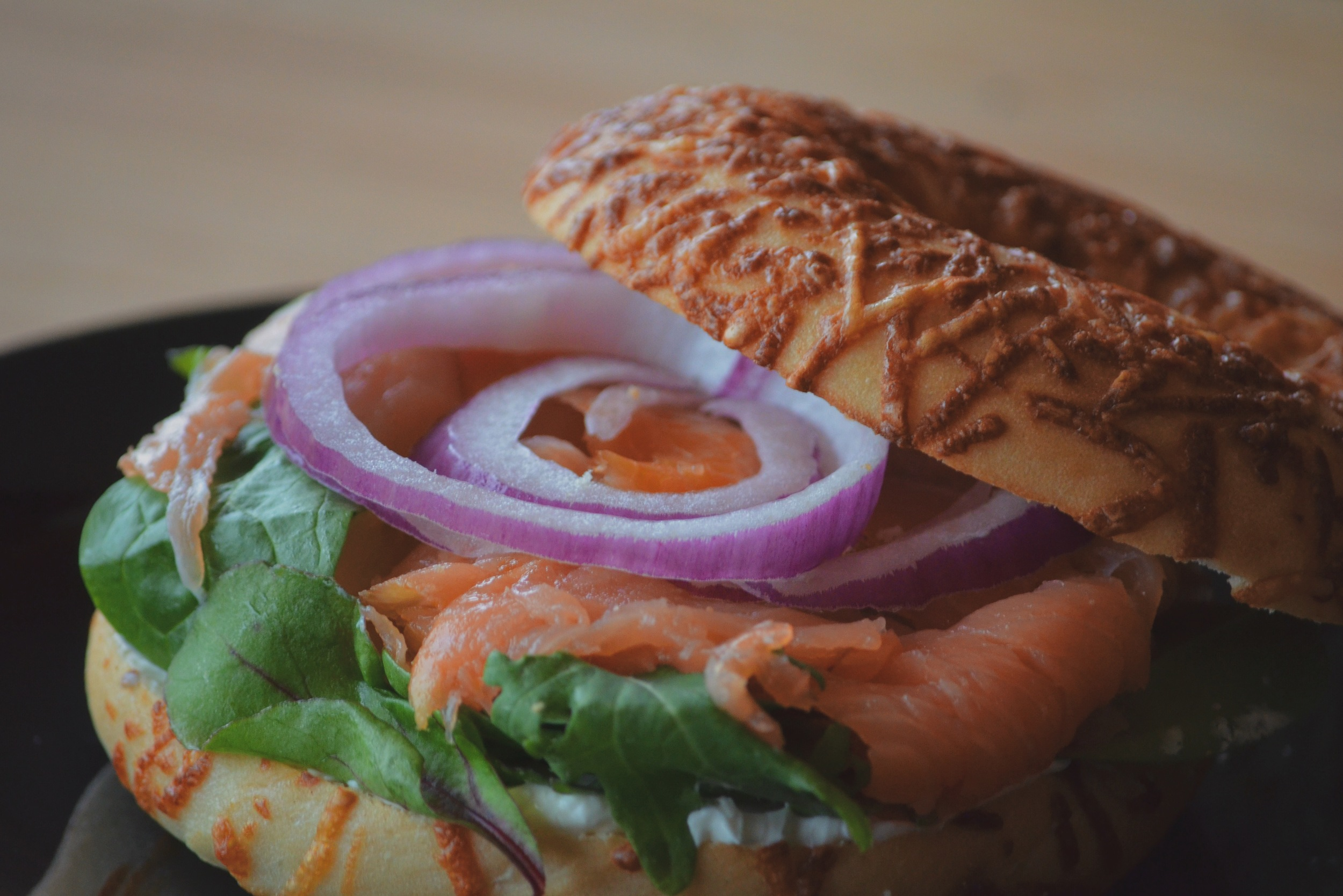 Salmon Bagel (Zoomed).JPG