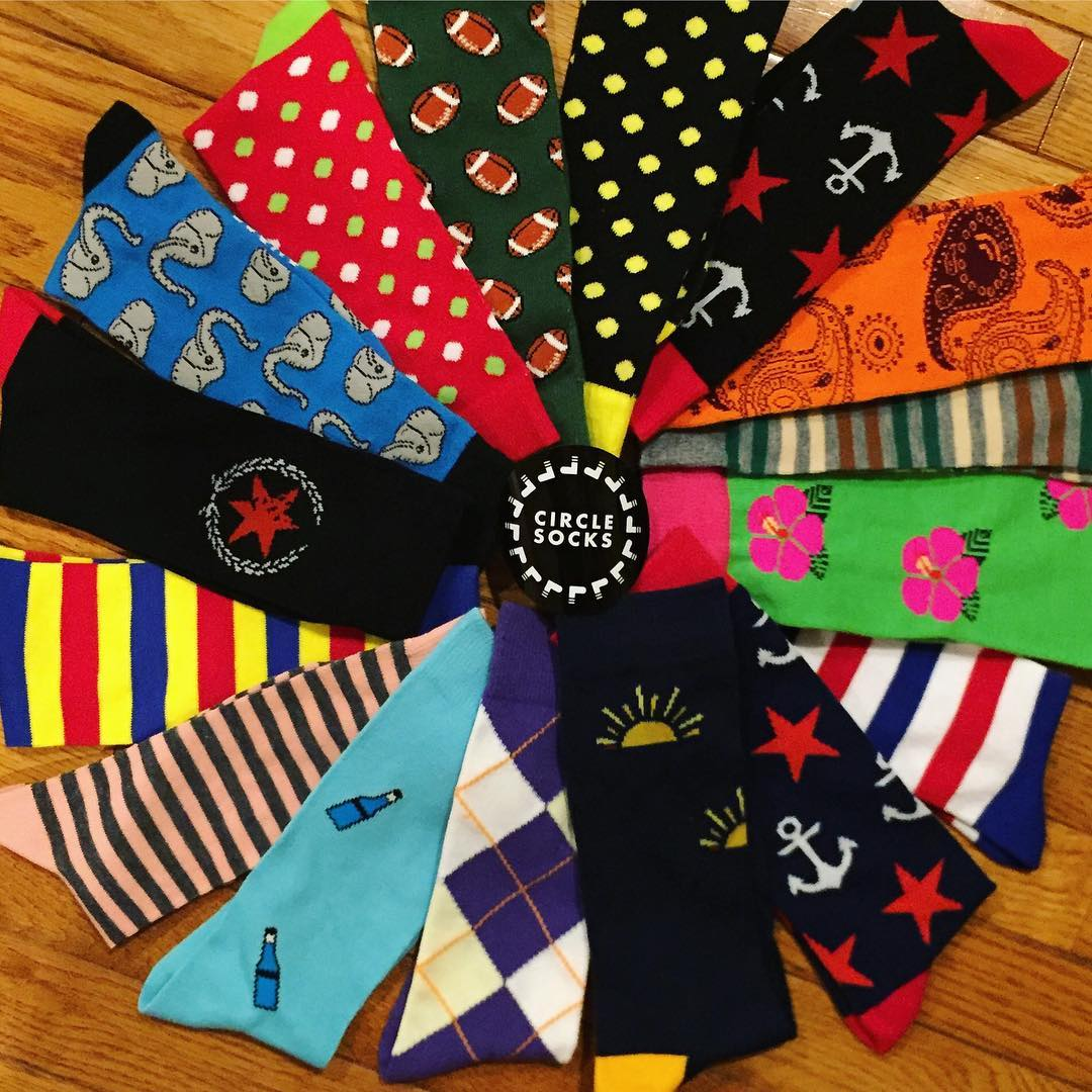 Custom Socks! - Do you have a great idea for a custom sock?Click here to contact us with the details! Minimum order is usually required.