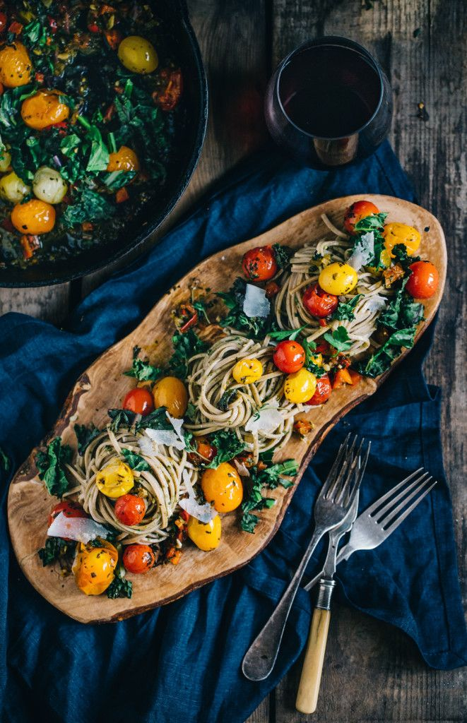 This recipe  sounds amazing with simple, but delicious flavors. Just substitute zucchini noodles or spaghetti squash!
