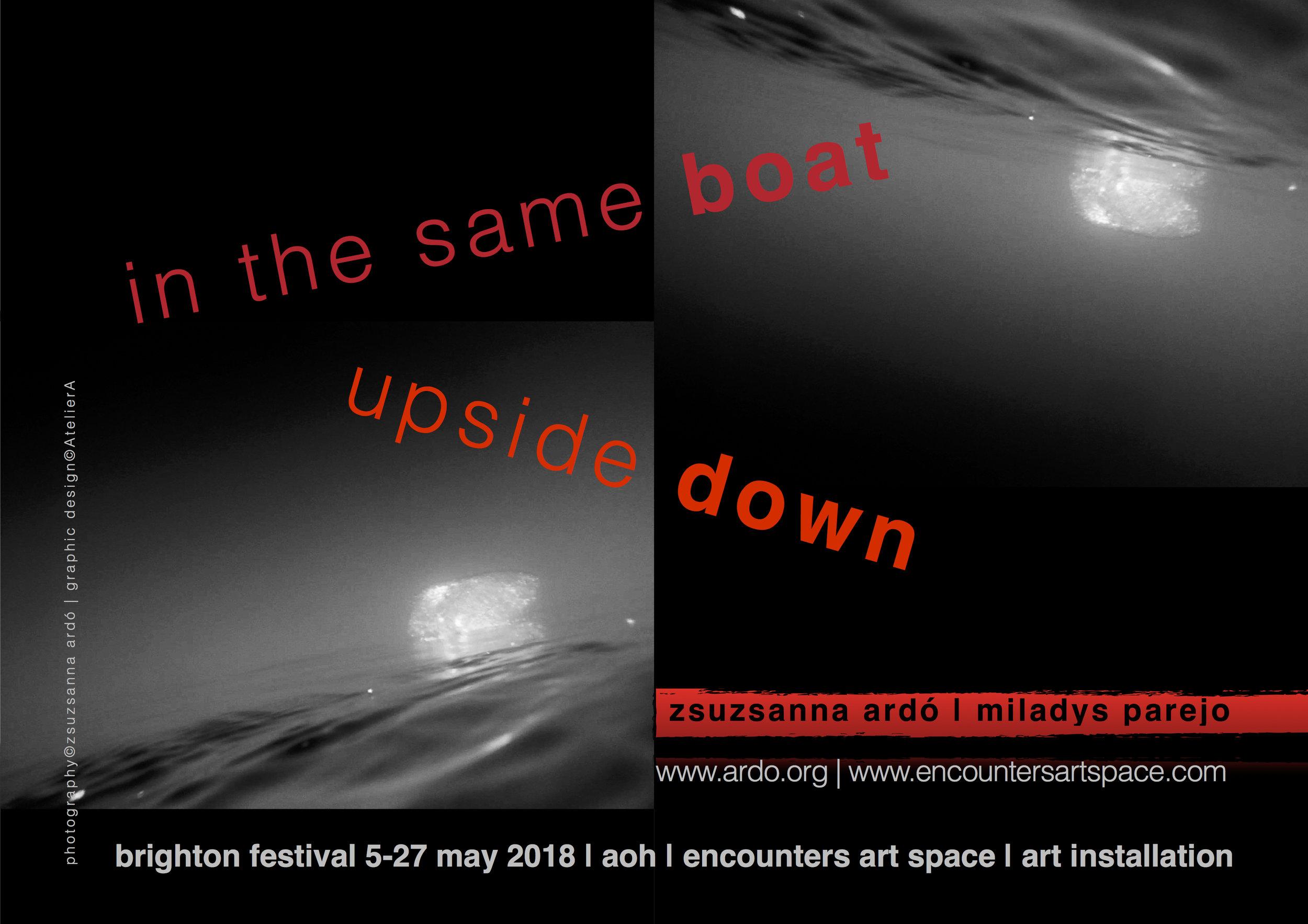 18 UK Brighton Fest Boat poster©zARDO.jpg