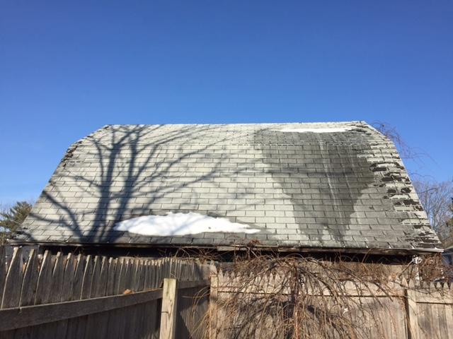 Sheadows on Roof