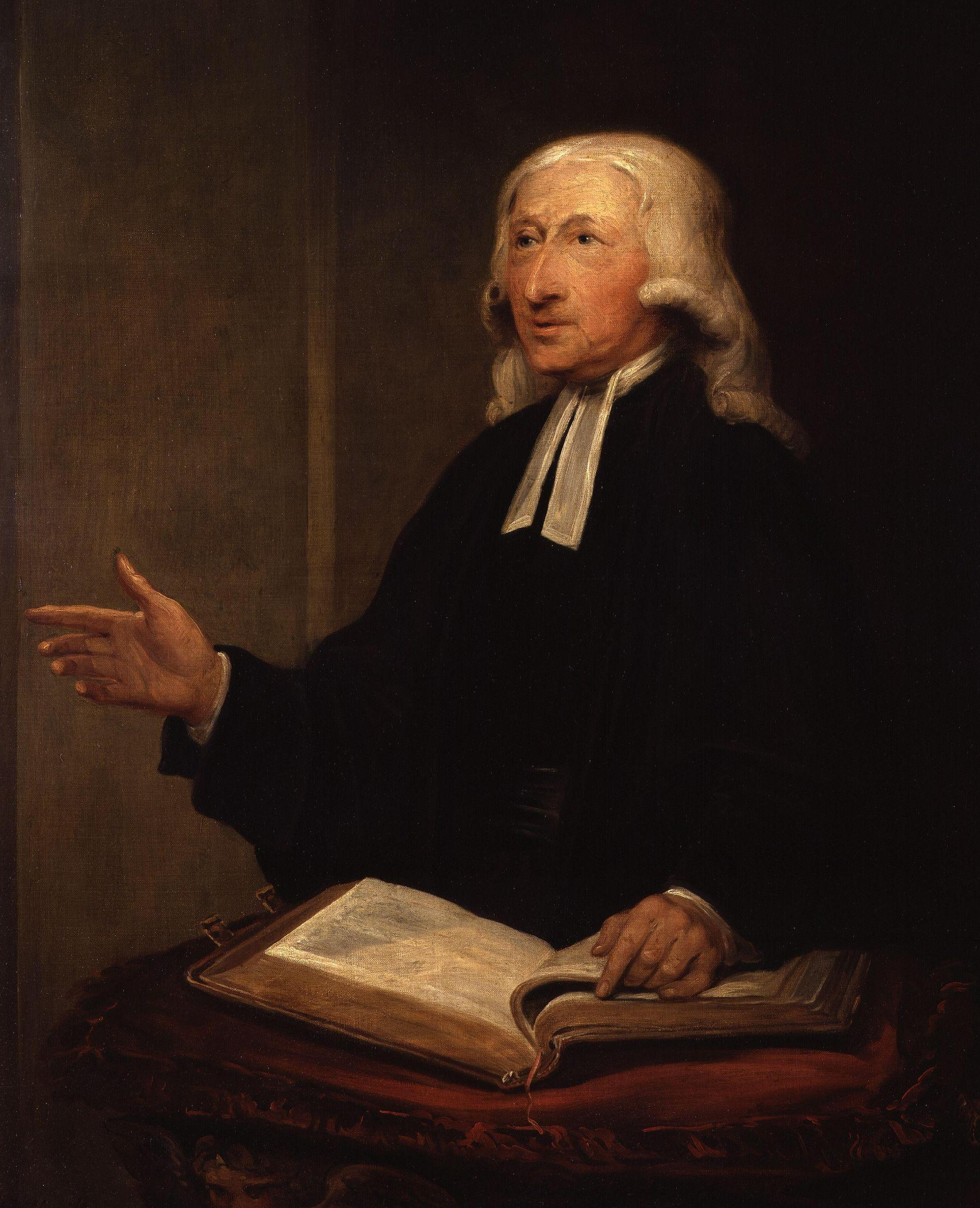 Portrait of John Wesley  by William Hamilton (1788)