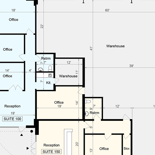 Commercial Floor Plans