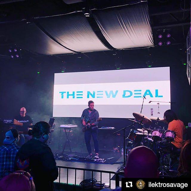 #Repost @ilektrosavage  Brilliant show tonight future is bright!! @__dankurtz__ @tndontour @putnam_place @guthriebellproductions  #thenewdeal #livetronica #liveelectronicmusic #electro