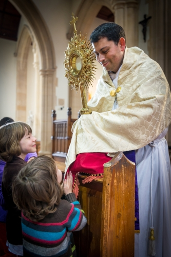 Benediction - Meeting Jesus in the Blessed Sacrament