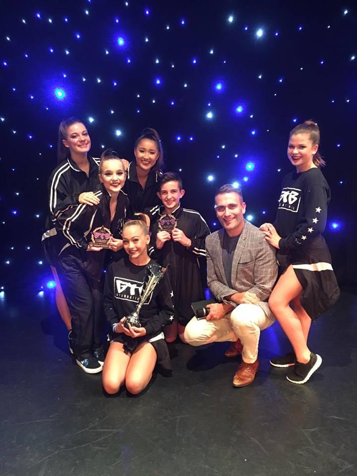 2016 under 15's lyrical team - highest scoring senior group at Get the Beat (Tweed)