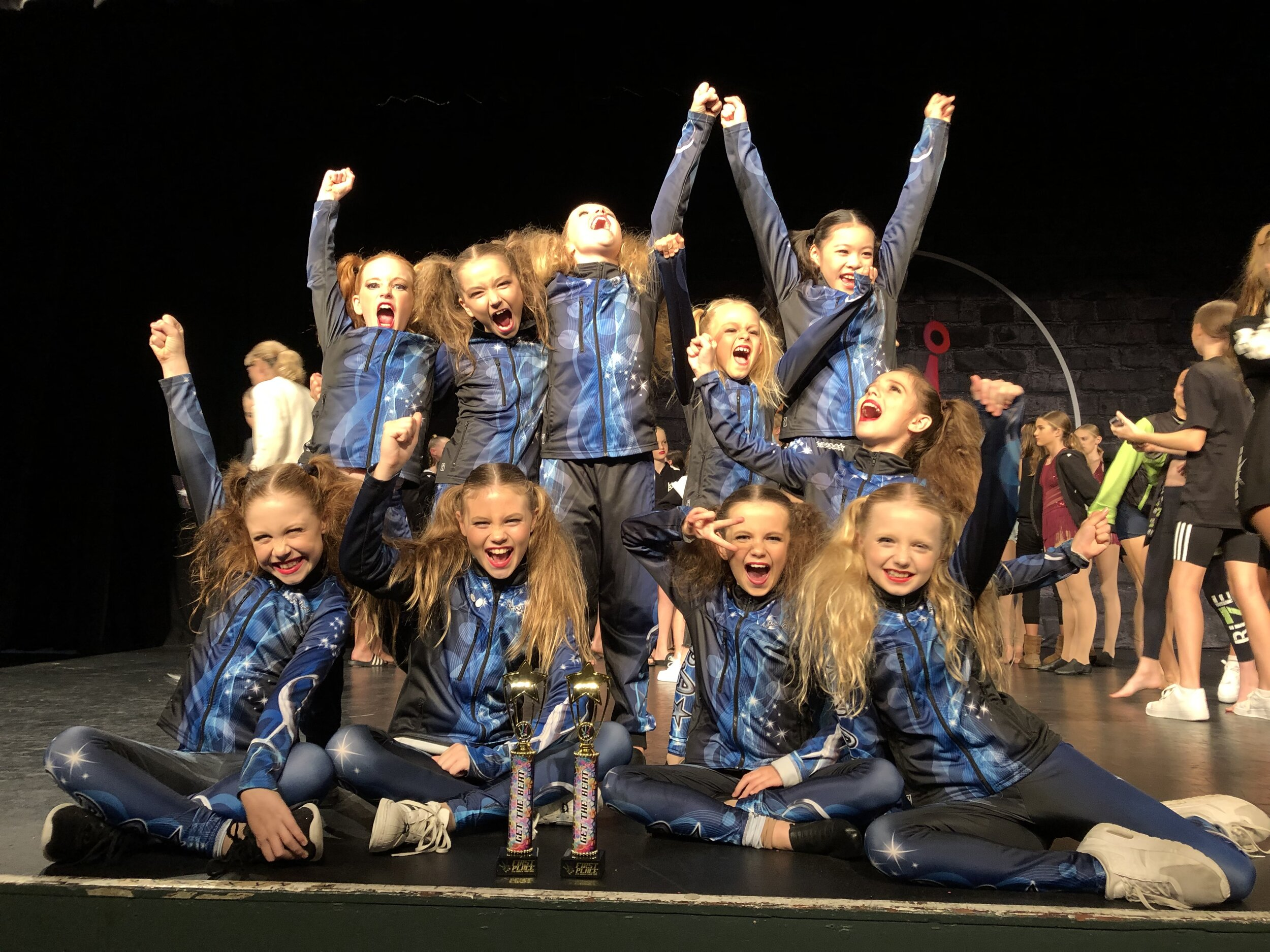 U10's Team at Get the Beat   1st place for Musical Theatre and Jazz