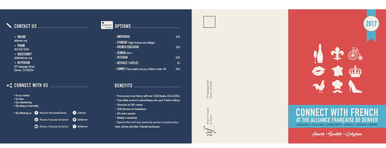 La Brochure 2017 | Quad-fold Cover