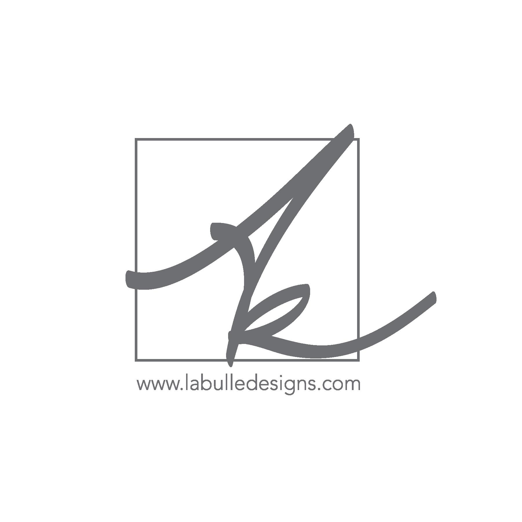 "Bulle:  noun  ( f):  In French, ""la bulle"" refers to a speech bubble or a soap bubble. La Bulle Designs combines creativity and business capabilities to give your company a strategic advantage!"