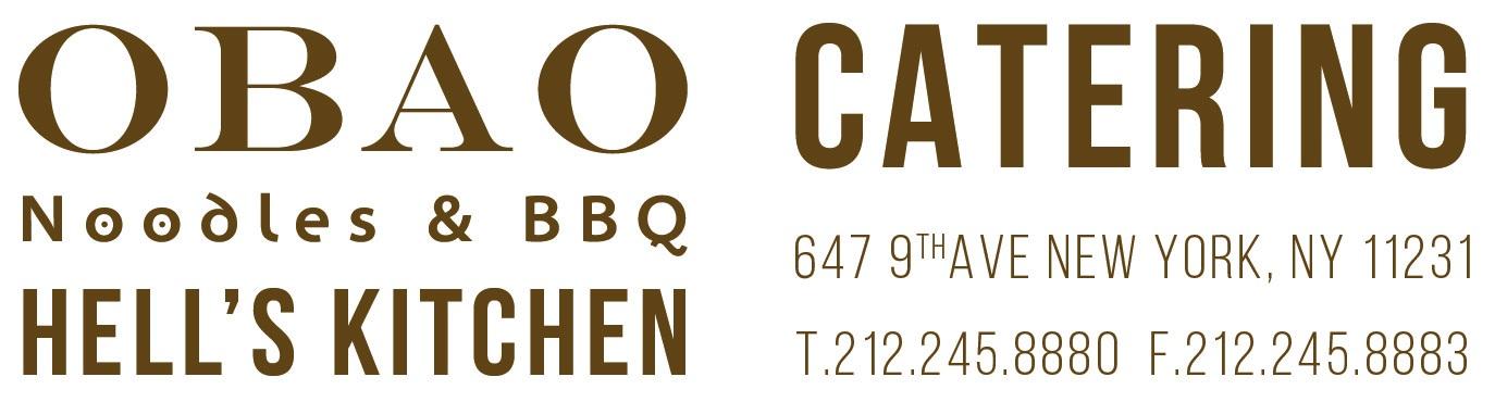 OBAO Hell's kitchen CATERING HEADLINE