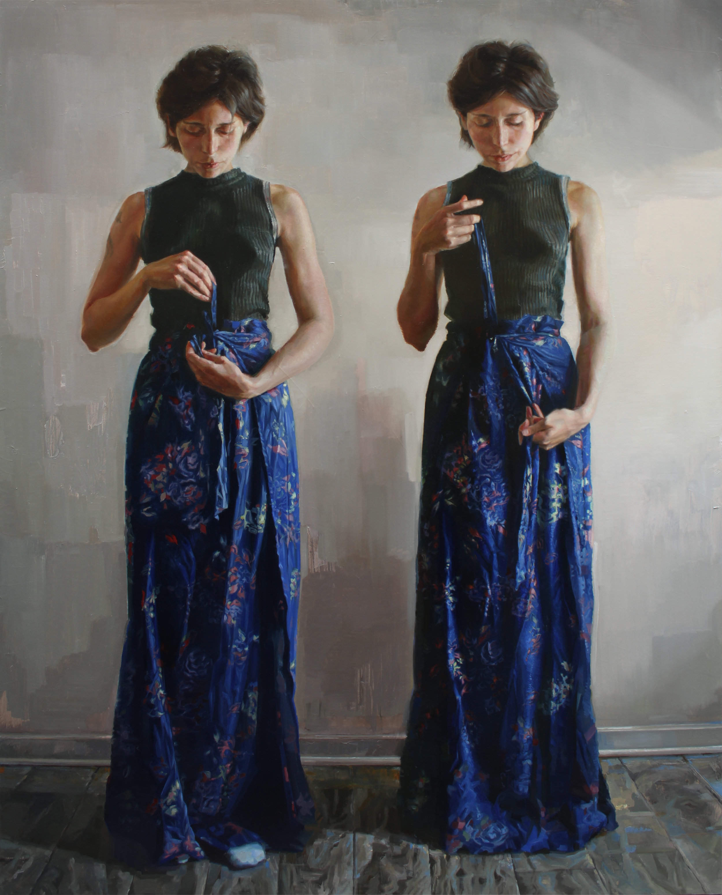 "DANIELA KOVACIC - ""Daniela II"", oil on canvas 201860"" x 48""$7,000"