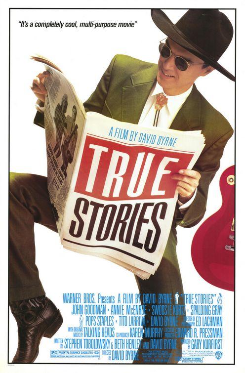 True Stories    (1986) dir. David Byrne Rated: PG image: © 1986    Warner Bros. Pictures