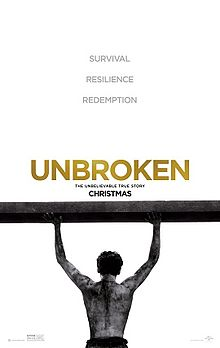 Unbroken   (2014)  dir. Angelina Jolie Rated: PG-13 image:  © 2014  Universal Pictures