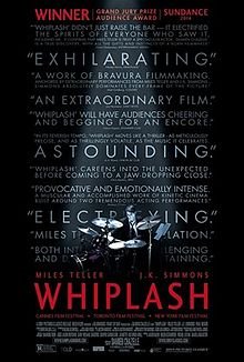 Whiplash   (2014) dir. Damien Chazelle Rated: R image: © 2014  Sony Pictures Classics