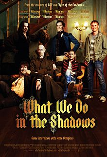 What We Do in the Shadows   (2015) dir. Jemaine Clement & Taika Waititi Rated: Not Rated by the MPAA image: ©2015  Madman Entertainment