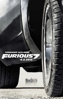 Furious 7   (2015) dir. James Wan Rated: PG-13 image: ©2015  Universal Pictures