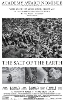 The Salt of the Earth   (2015) dir. Wim Wenders & Juliano Ribeiro Salgado Rated: PG-13 image: ©2015  Le Pacte